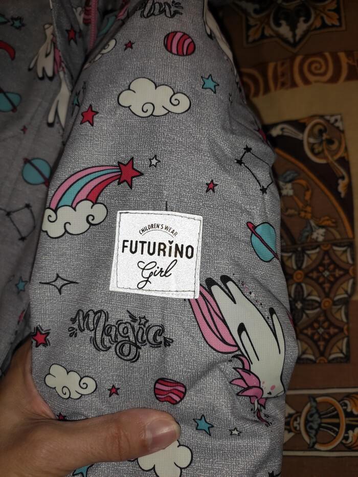 Комплект Футурино для девочек - куртка и полукомбинезон: отзыв и подробные фото