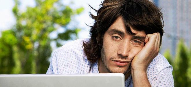 Причины постоянной сонливости и усталости у мужчин