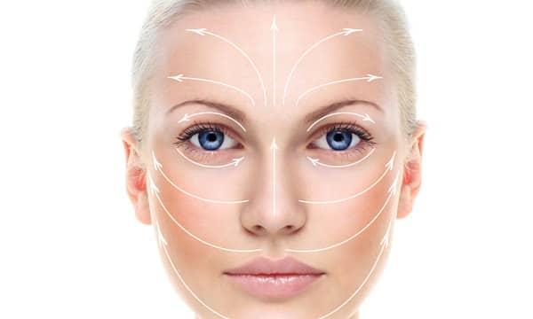 Массаж для коррекции овала лица