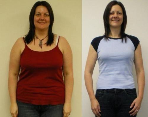 Фото до и после похудения на перловке