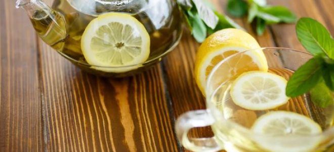Зеленый чай с лимоном – свойства, польза для организма