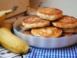 Сырники из творога и банана