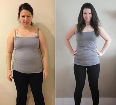 Результаты похудения на диете семь лепестков