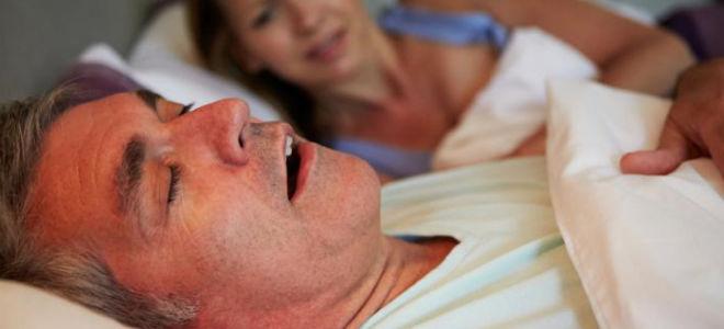 Синдром ночного апноэ у взрослых