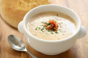 Рыбный суп-пюре