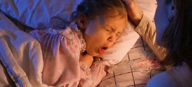 Почему появляется у ребенка кашель ночью?