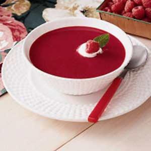 Суп из малины