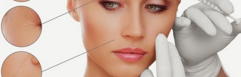 Косметическая процедура мезолифтинга и мезотерапии лица