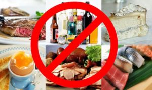 Запрет в еде
