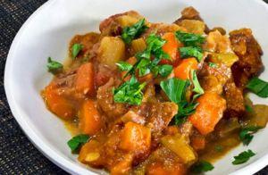 Диетическая говядина с картофелем