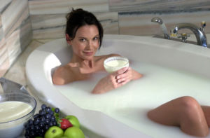 Сода для ванной для похудения