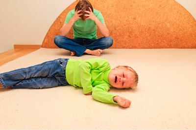 ребенок нервный и непослушный