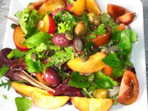 Салат из слив