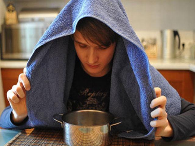 Дышать над картошкой при насморке