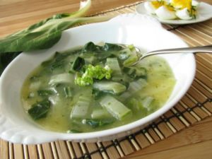 Суп из стеблевого сельдерея
