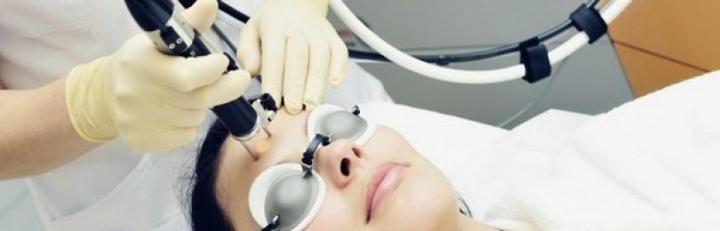 Омоложение лица методом лазерной шлифовки
