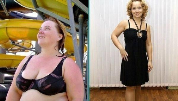 Фото до и после диеты на яйцах