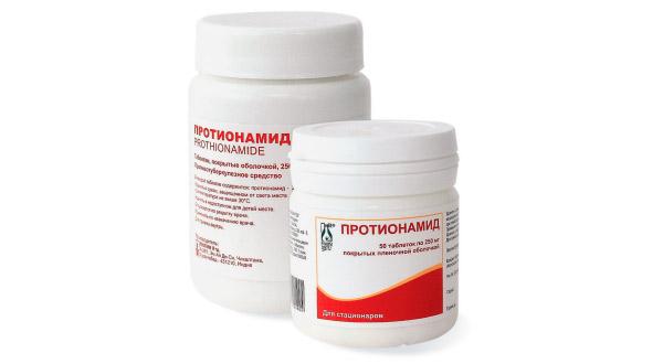 Инструкция по применению Протионамида при туберкулезе