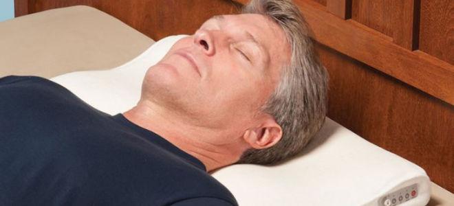 Ортопедическая подушка от храпа: какую выбрать