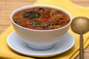 Суп из баклажан