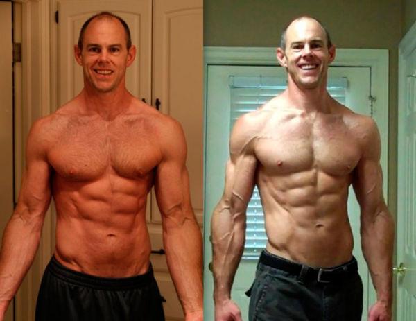 Фото до и после кето-диеты